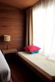Sitio de la cama Foto de archivo