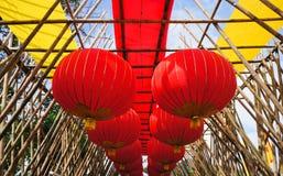 Lámpara de nylon china Fotografía de archivo