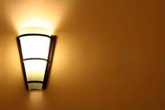Lámpara de pared Foto de archivo libre de regalías