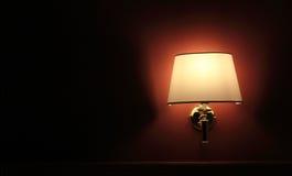 Lámpara de pared Fotografía de archivo libre de regalías