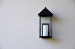Lámpara de pared Fotos de archivo libres de regalías