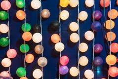 Lámpara de pared multicolora Imagenes de archivo