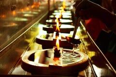 Lámpara de petróleo Fotos de archivo