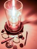 Lámpara de petróleo imagenes de archivo