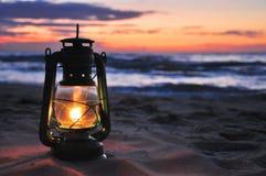 Lámpara de petróleo Foto de archivo