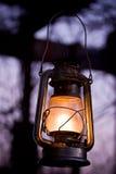 Lámpara de petróleo Imágenes de archivo libres de regalías