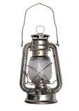 Lámpara de petróleo aislada fotografía de archivo