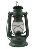 Lámpara de petróleo aislada Imagen de archivo libre de regalías