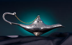 Lámpara de petróleo vieja Foto de archivo libre de regalías