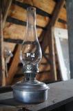 Lámpara de petróleo vieja Imágenes de archivo libres de regalías