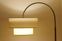 Lámpara de pie Foto de archivo libre de regalías