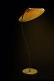 Lámpara de pie del vintage Imágenes de archivo libres de regalías