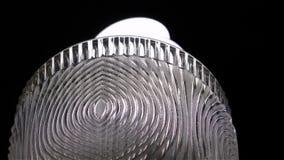 Lámpara de plata simple almacen de metraje de vídeo