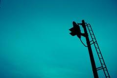 Lámpara de señal Foto de archivo