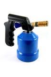 Lámpara de soldar azul Foto de archivo libre de regalías