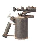 Lámpara de soldar oxidada vieja Fotos de archivo