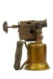 Lámpara de soldar vieja Imagen de archivo libre de regalías