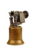 Lámpara de soldar vieja Imagenes de archivo
