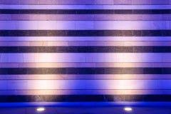 Lámpara de suelo y pared del mármol Imágenes de archivo libres de regalías