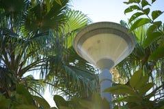 Lámpara de tierra del jardín de la calzada Imagenes de archivo