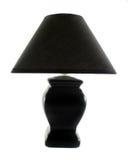 Lámpara de vector negra Imagen de archivo
