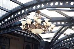 Lámpara decorativa Imagen de archivo libre de regalías