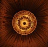 Lámpara decorativa del techo Foto de archivo