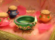 Lámpara decorativa india Fotografía de archivo libre de regalías
