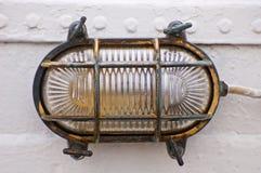 Lámpara del barco Fotos de archivo libres de regalías
