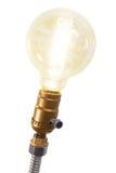 Lámpara del bulbo del vintage Imagen de archivo libre de regalías