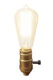 Lámpara del bulbo del vintage Fotos de archivo libres de regalías