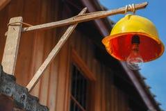 Lámpara del casco Fotos de archivo libres de regalías