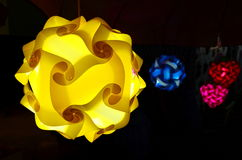 Lámpara del color Imagen de archivo