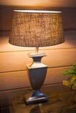 Lámpara del dormitorio Imagen de archivo libre de regalías