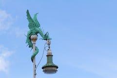 Lámpara del dragón foto de archivo