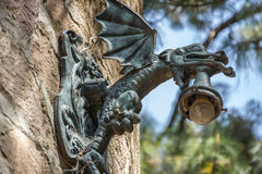 Lámpara del dragón Imagenes de archivo
