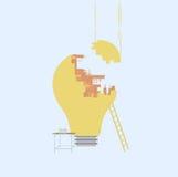 Lámpara del edificio Imágenes de archivo libres de regalías