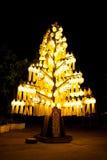 Lámpara del estilo de Lanna Imágenes de archivo libres de regalías
