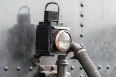 Lámpara del ferrocarril Foto de archivo libre de regalías