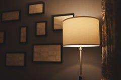 Lámpara del hotel Imágenes de archivo libres de regalías