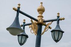 Lámpara del jardín público Imagenes de archivo