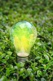 Lámpara del mundo brillante Foto de archivo libre de regalías