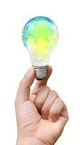 Lámpara del mundo brillante Imagenes de archivo