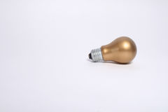 Lámpara del oro. Fotos de archivo