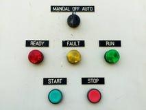 Lámpara del panel de control  Foto de archivo libre de regalías