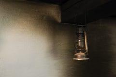 Lámpara del petróleo Fotografía de archivo