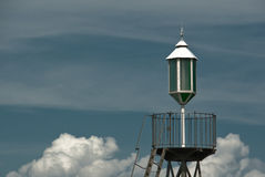 Lámpara del puerto imagenes de archivo