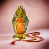 Lámpara del Ramadán Imagen de archivo libre de regalías
