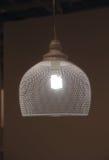 Lámpara del sitio en un estilo minimalista Foto de archivo libre de regalías