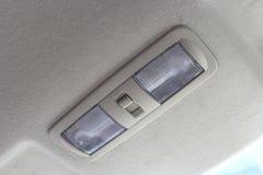Lámpara del techo del coche. Fotos de archivo libres de regalías